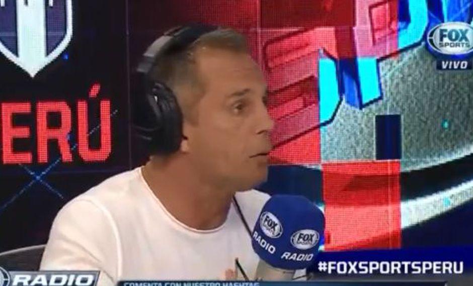 Julinho es panelista de Fox Sports Radio Perú.