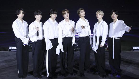 """BTS: Fanáticos celebran primer aniversario de la canción """"Black Swan"""". (Foto: American Broadcasting Companies, Inc. / AFP)."""