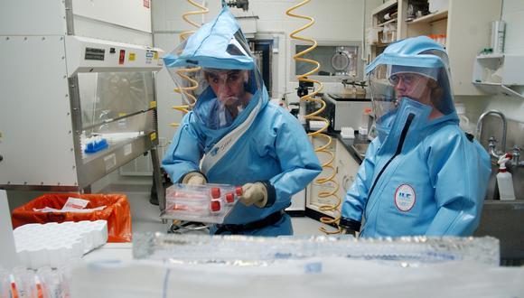 El coronavirus es ya una epidemia. (Foto: Olivier DOULIERY / AFP)
