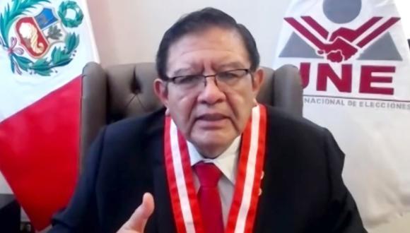 El JNE se reunió virtualmente con los partidos políticos para elaborar el Pacto Ético Electoral. (Foto: Twitter @JNE_Peru)