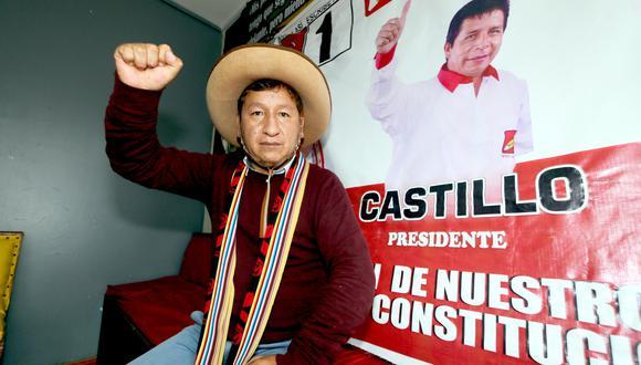 Guido Bellido congresista electo por Cusco. (Foto: Juan Sequeiros / Archivo)