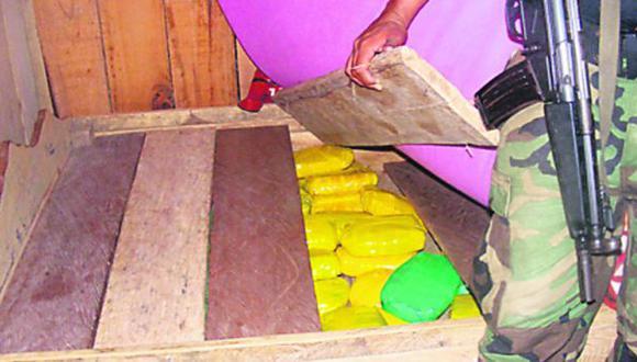 Autoridades incautaron 700 kilos de drogas en Loreto y Junín