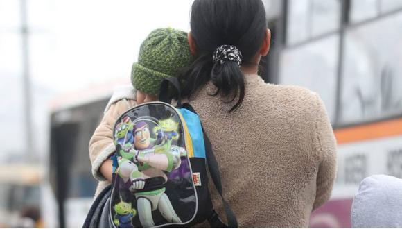 Familias con niños menores de dos años recibirán una ayuda económica de 200 soles, así lo anunció Pedro Cateriano.