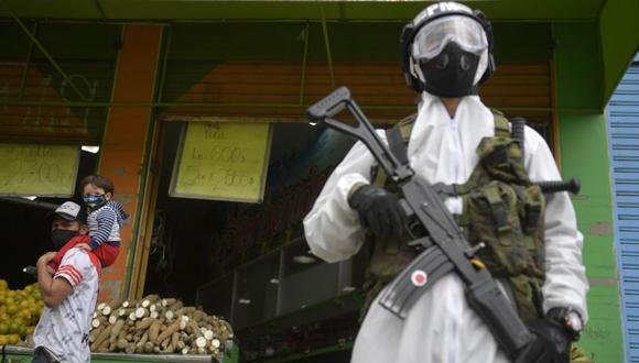 Coronavirus Colombia: Bogotá extenderá la cuarentena por pandemia de Covid-19 a 5 millones de personas, anunció la alcaldesa Claudia López (Foto: Raúl ARBOLEDA / AFP).