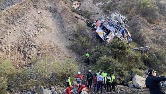 Se trata del vehículo  de la empresa León Express.. (Foto: @roropizzino)