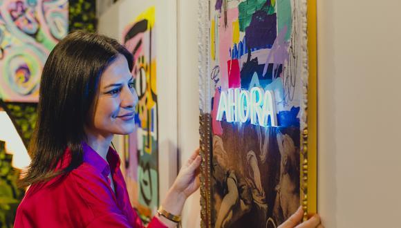 Pamela Díaz (Lima, 1984) trabajó en el mundo corporativo por años. Desde hace dos se dedica al arte de manera exclusiva. (Foto: Mentda Days)