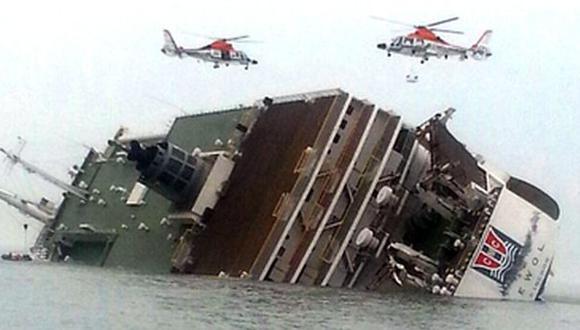 En el momento del accidente había 60 personas a bordo, 11 surcoreanos, 13 filipinos y 35 indonesios, así como un inspector ruso. Siete fueron rescatados con vida. (Foto referencial: AP)