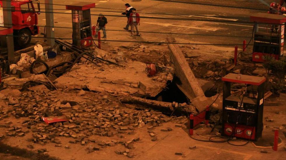 Explosión en grifo de Magdalena dejó estos destrozos [Fotos] - 1
