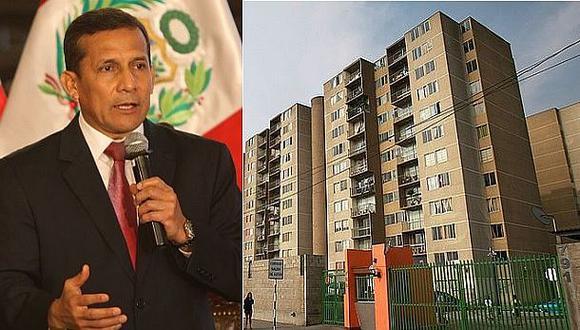 Humala promulgará hoy norma de alquiler y venta de viviendas