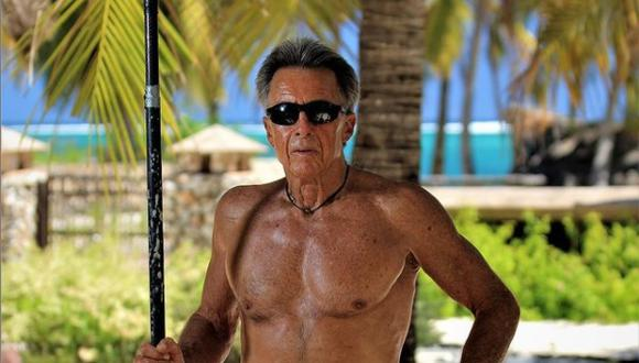Felipe Pomar, de 78 años, fue campeón mundial de tabla en 1965. Hoy sigue surfeando todos los días. (Foto: Instagram)