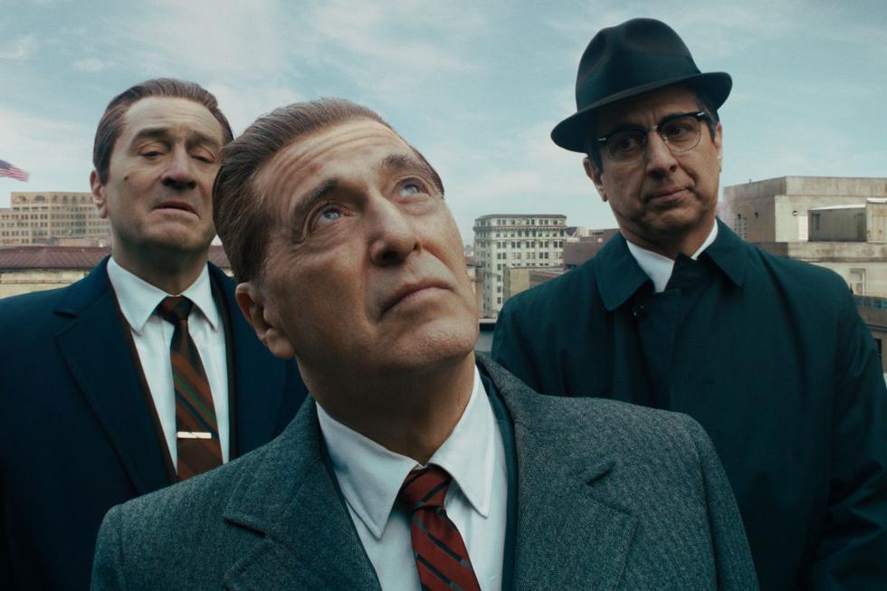 """""""The Irishman"""" obtuvo cinco nominaciones en los Globos de Oro 2020, incluyendo Mejor película - drama y Mejor director. (Foto: Netflix)"""