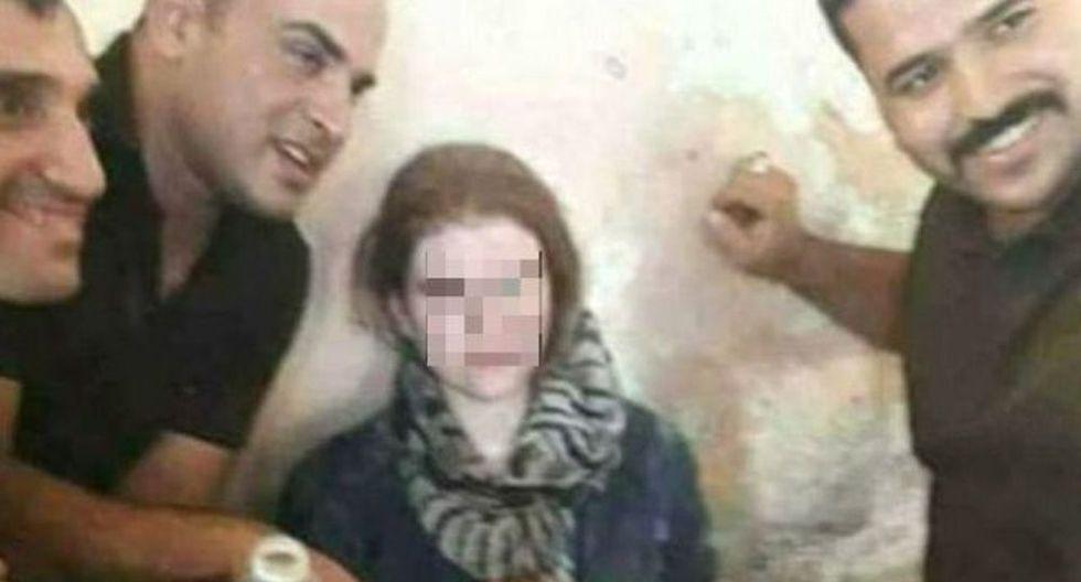 A la adolescente alemana que se unió al Estado Islámico la encontraron en un túnel en Mosul.