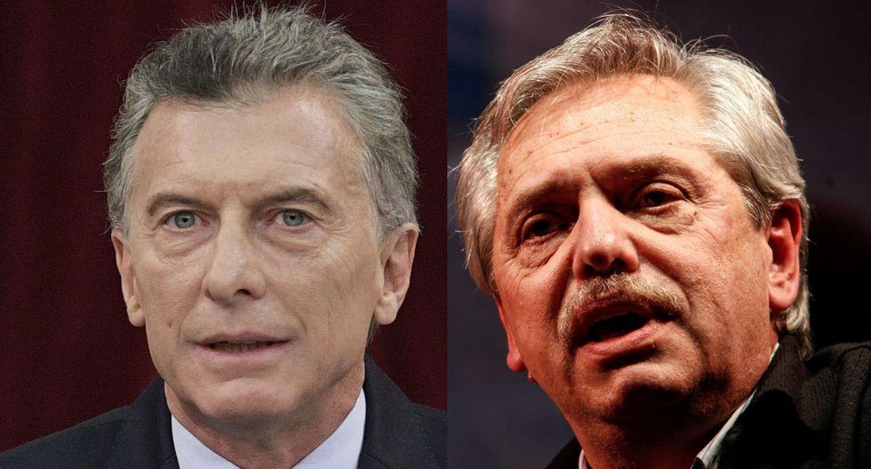 Mauricio Macri (izquierda) y Alberto Fernández son los favoritos para ganar las elecciones presidenciales en Argentina. (Reuters).