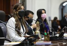 Vicepresidenta del Congreso pide al ministro de Energía y Minas que deslinde de amenaza de Guido Bellido