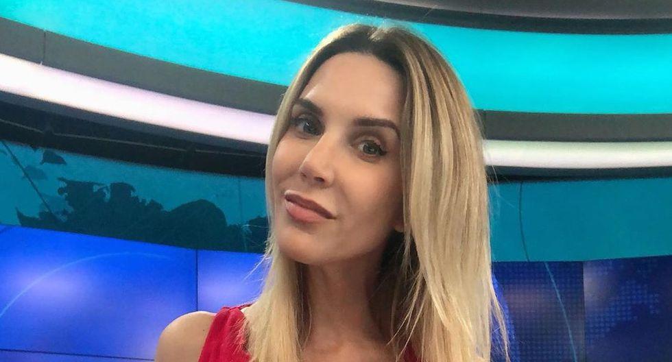Periodista también agradeció a todos los televidentes por todo el apoyo durante el tiempo que estuvo en el noticiero de Latina.  (Foto: Instagram)