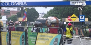 Coronavirus: Cientos de migrantes regresan a Venezuela desde Colombia por pandemia
