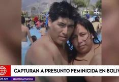 Capturan en Bolivia a peruano acusado de asesinar y enterrar a su pareja en su casa