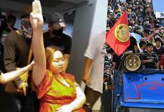 Quién es 'Rung', la joven que lidera las protestas antimonárquicas en Tailandia y acaba de ser arrestada