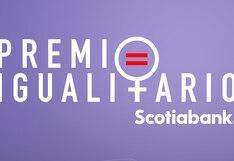 Premio Igualitario inicia su etapa de inscripciones