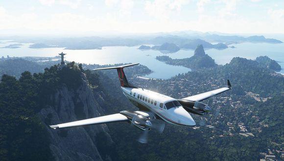 Una vista del Flight Simulator disponible desde el 18 de agosto de 2020 para Windows 10 y Xbox One. (Difusión)
