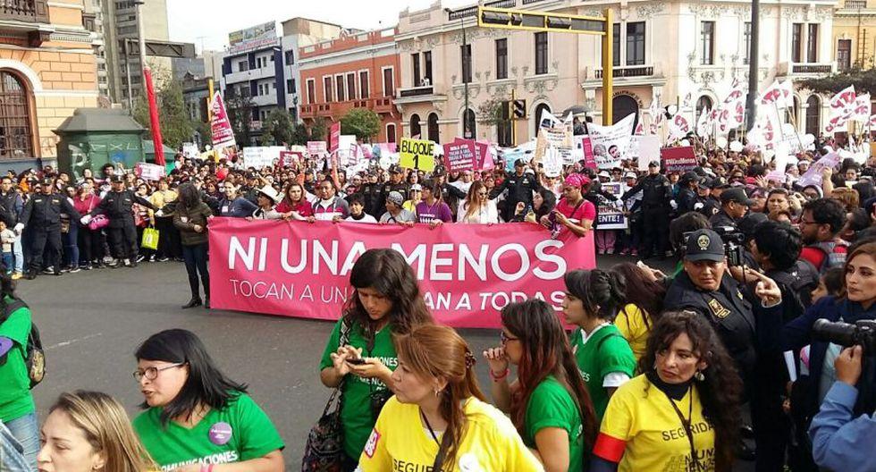 #NiUnaMenos: así se desarrolló la marcha en Lima [FOTOS] - 23