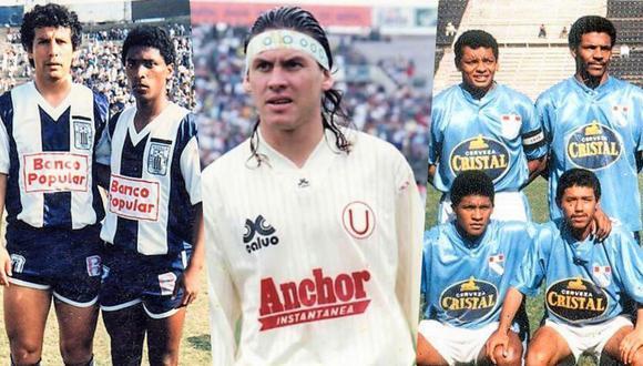 Entre finales de los ochenta e inicios de los noventa, los principales clubes profesionales comenzaban a normalizar el uso de auspiciadores en la camiseta. (Foto: Archivo).