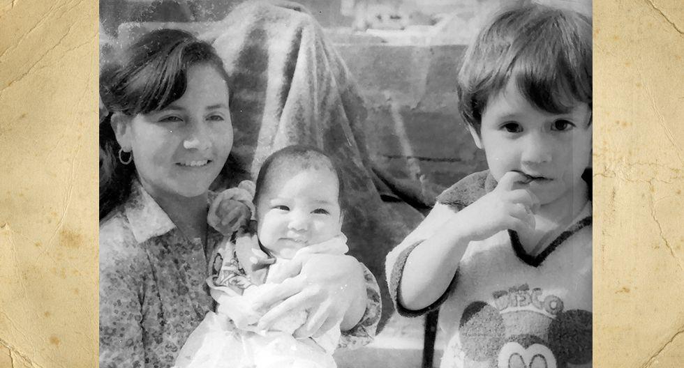 Ilma Obando Vásquez. En la imagen tenía 29 años y hoy tiene 4 hijos, dos nietos y una nieta.