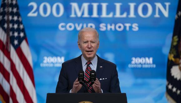 El presidente de Estados Unidos, Joe Biden, en la Casa Blanca en Washington. (Foto: AP/Evan Vucci, File).