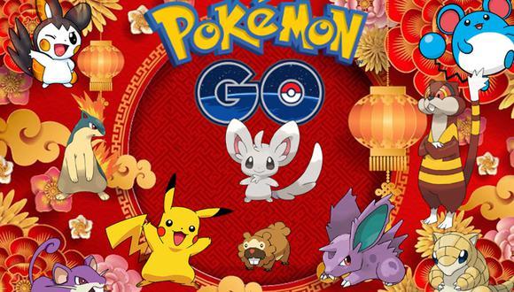 Estos son todos los Pokémon que aparecerán por el Año Nuevo Chino en Pokémon GO. (Foto: Nintendo)