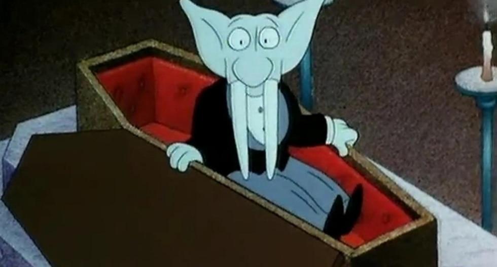 Ernesto el vampiro. (Fotos: YouTube)
