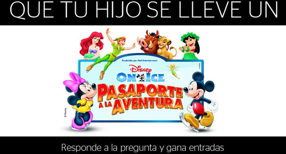 """Disney on ice"": te regalamos entradas"