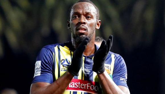Los Central Costa Mariners de Australia dudan del nivel futbolístico de Usain Bolt. Aun así, intentan negociar con el deportista jamaiquino para ofrecer un modesto contrato. (Foto: AP)