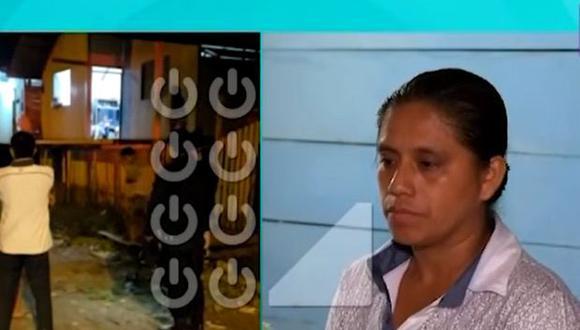 Madre del menor habló con un medio de comunicación. (Foto: Captura/Latina)