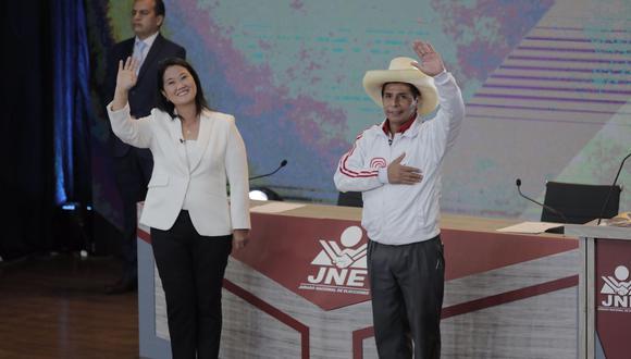 Candidatos presidenciales participaron en el último debate con miras a la segunda vuelta (Foto: Leandro Britto/Grupo El Comercio)
