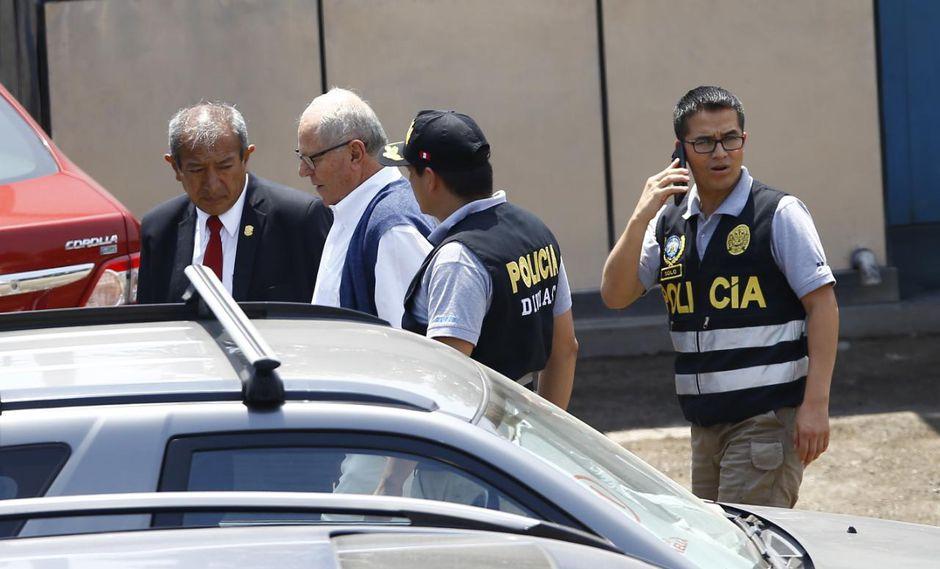 El ex presidente PPK contaba con una orden de impedimento de salida del país. (Foto: Francisco Neyra/ GEC)