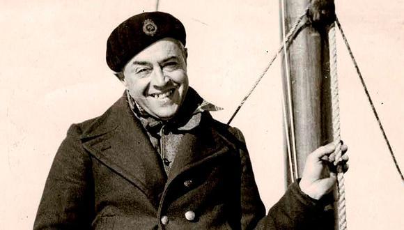 """Vito Dumas en solitario, en su velero LEHG II, navegó la """"ruta imposible"""" e hizo lo que nadie hizo en la vida en la historia naútica. (Foto: EFE)"""