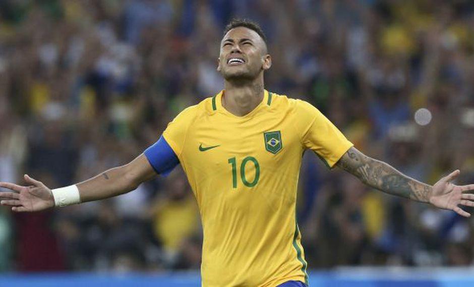 Neymar, capitán de la selección de Brasil. (Foto: Reuters)