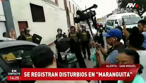 Este disturbio se habría originado por los propios internos al enterarse que algunos iban a ser trasladados a otro penal. (Foto: Captura Prensa Chalaca/ATV+)