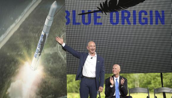 Fundador de Amazon planea construir cohetes espaciales