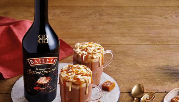 Salted Caramel Hot Chocolate.