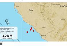 Ica: ¿movimientos telúricos registrados frente a sus costas se pueden catalogar como un enjambre sísmico?