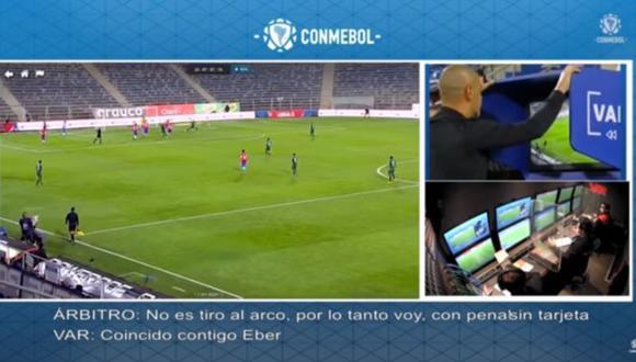 Conmebol revela los audios del partido entre Chile y Bolivia.