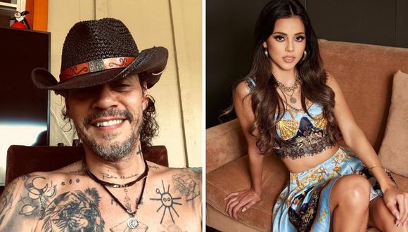Luciana Fuster y Marc Anthony han sido vinculados en las últimas semanas, pero la modelo niega la noticia. (Foto: Instagram / @lucianafuster / @marcanthony).