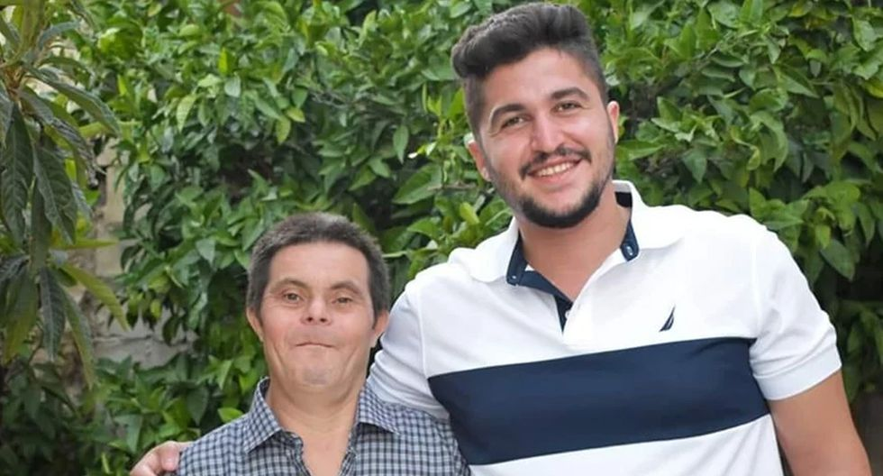 Este muchacho no dudó en contar con orgullo la historia de su padre y la convivencia con él, que tiene síndrome de Down. (Foto: OK)
