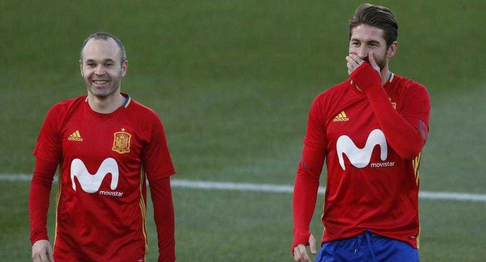 Sergio Ramos conversó con los medios luego de terminado el encuentro entre Barcelona y Real Madrid. El defensa dio detalles del clásico español y de su futuro (Foto: Marca)