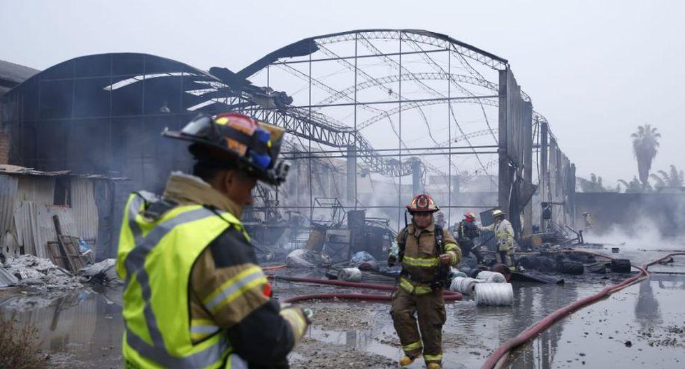 Aún se desconocen las causas de este incendio; por ahora todo está en materia de investigación. (Fotos: GEC/ José Rojas Bashe)