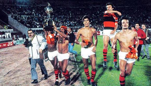 Flamengo, que enfrentará este domingo (3 p.m.) a River Plate en la final de la Copa Libertadores,  ganó su único título continental en 1981. (Foto: AP)