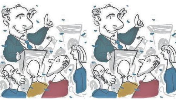 """""""Una vez en el gobierno, ningún político se preocupa de que se cumpla lo que prometieron en campaña"""" (Ilustración: Giovanni Tazza)"""