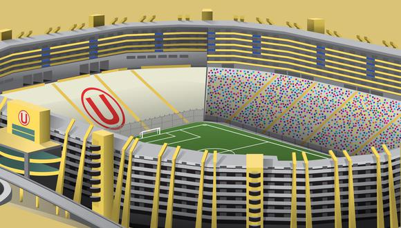 Estadio Monumental Universitario de Deportes.
