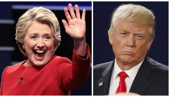Clinton afianza liderazgo en encuestas a un día de la elección
